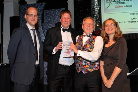 UK Claims Excellence Awards 2013 Claims Technology Initiative of the Year
